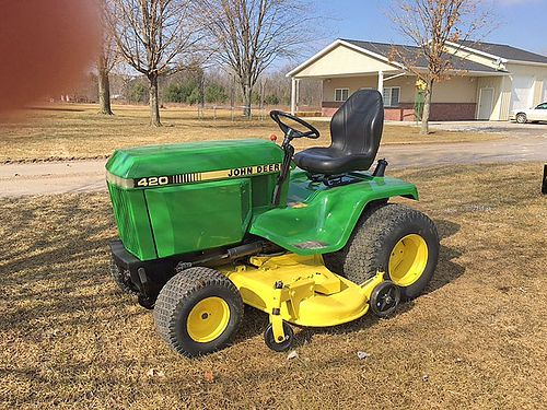 JOHN Deere 420 60 cut 20 HP Onan PS hydro 3275