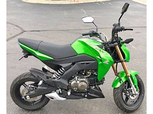 2017 KAWASAKI Z125 Pro Sport fuel injected 125 narrow profile street tires ask for Ross 2788