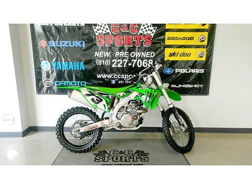 2015 KAWASAKI KX450F only 10 hours almost new 6499For more information contact our internet spec