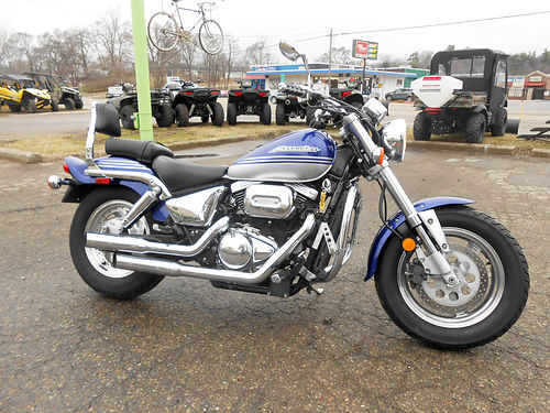 2002 SUZUKI Marauder VZ800K2 blue low miles ready to ride only 2899