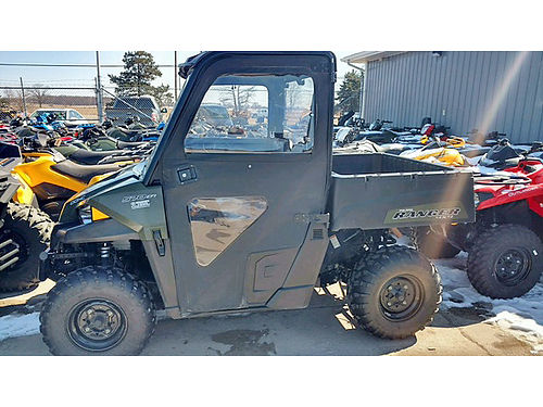 2015 POLARIS Ranger 570 with soft cab light bar very nice only 8995