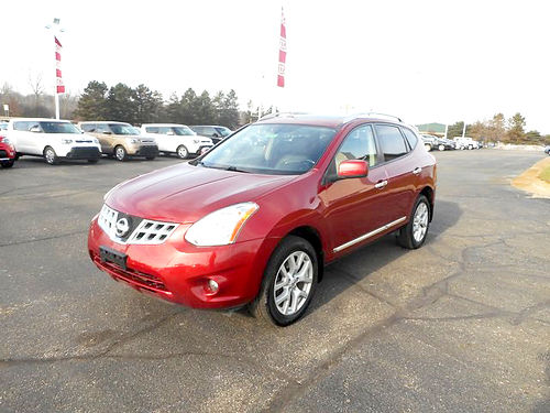 2012 NISSAN Rogue SV J101397 leather great look 14479