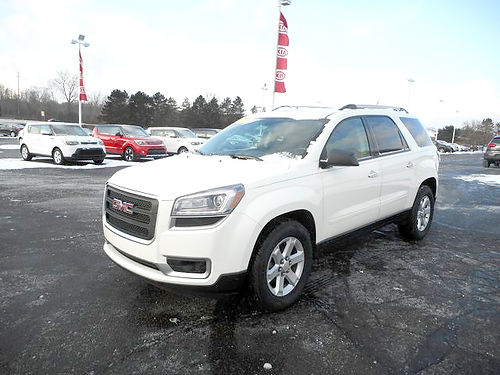 2013 GMC Acadia SLE J101394 one owner all the options 18873