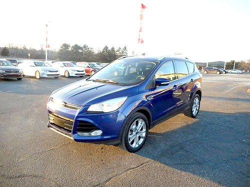 2015 FORD Escape Titanium J101446 one owner sporty 15564