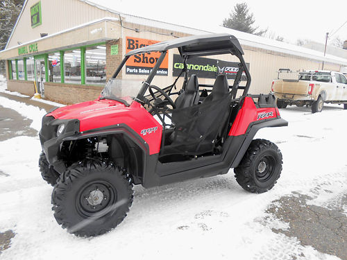 2011 POLARIS Ranger RZR 800 winch half windshield extended fender flares 2525 miles sale price