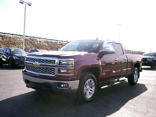 2014 CHEVY Silverado 1500 LT 287492A double cab 4WD standard box touch screen like new call