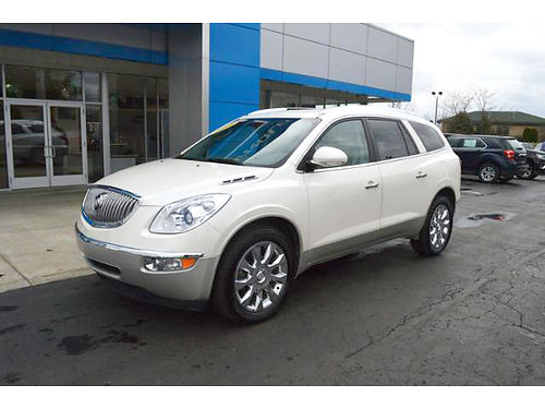 2012 BUICK Enclave P4024 FWD leather many options loaded 17995