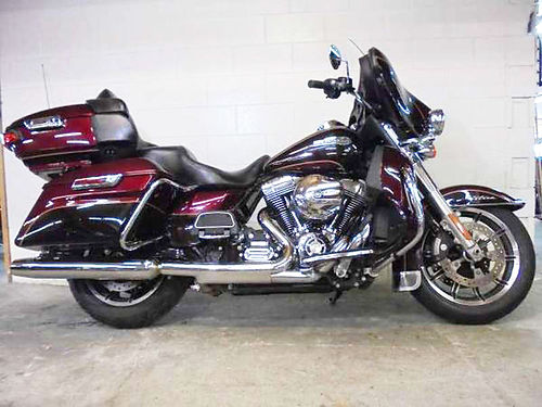 2014 HARLEY-DAVIDSON Ultra Classic mysterious red 103cu motor over 50 Electra Glides in-stock 1