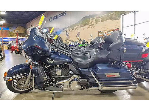 2009 HARLEY-DAVIDSON Electra Glide Classic flame blue pearl 0 down financing available ask for J