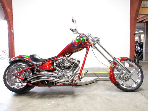 2008 BIG Dog K-9 SS 117 cubic inch motor 300 rear tire chrome everywhere 14500 Email leadsd
