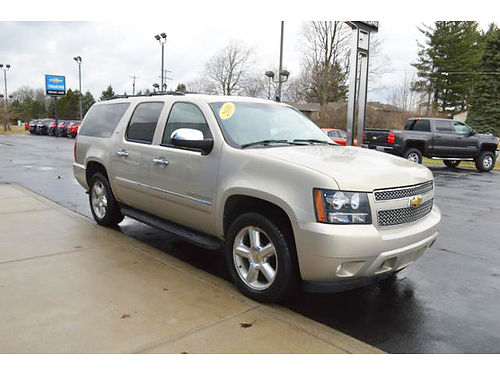 2010 CHEVY Suburban LTZ P4026 4WD 53L 8 cylinder well equipped 19495