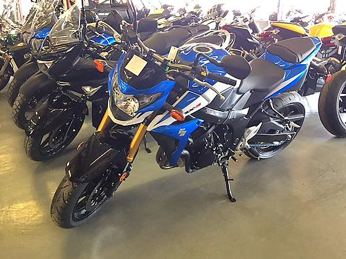 2015 SUZUKI GSX-S750 brand new full warranty truckload sale - only 6499 while supplies last