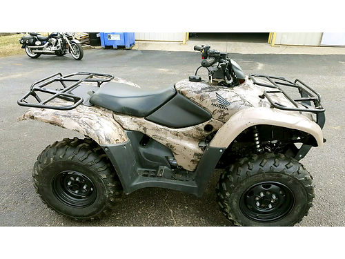 2012 HONDA FourTrax Rancher AT 51 hours 420cc camo clean 5499