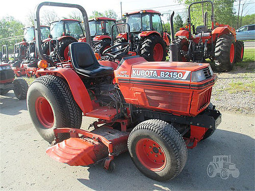 1994 KUBOTA B2150HDS 5780 245hp 4 cylinder diesel 4WD 3 sp hydro trans only 963 hours 780
