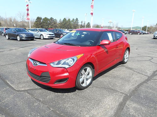 2015 HYUNDAI Veloster J101461 hatchback one owner right car - right price 11962