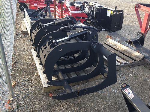 ANSUNG Grapple Bucket skid steer quick attach 5150 hp 3000 lb clamping force at 2000 psi 2500