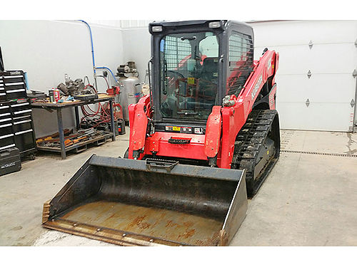 KUBOTA SVL75 Track Loaded 75 HP diesel engine 9040 op wieght enclosed cab 866-574-9931