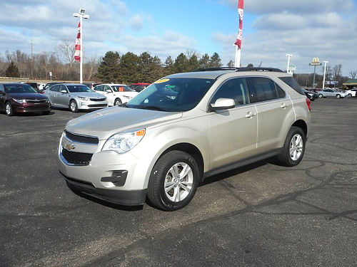 2015 CHEVY Equinox LT J101444 only 23011 miles one owner like new 15951