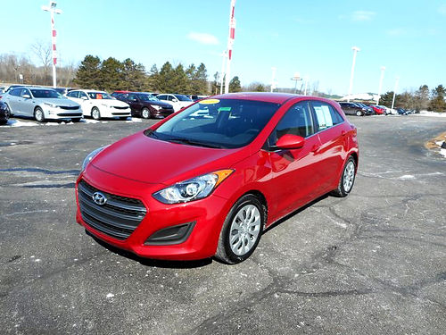 2016 HYUNDAI Elantra GT J101449 one owner hatchback very clean 12599