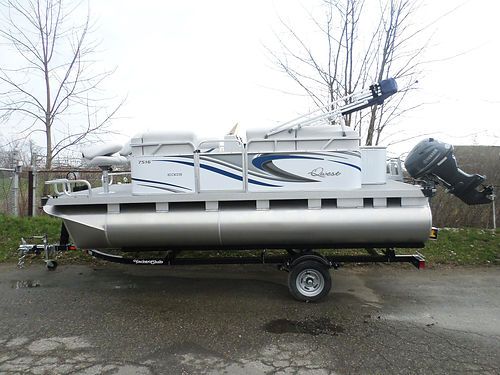 2017 APEX Qwest 7516 Eagle Sport Cruise 11836 new 25hp Yamaha trailer included 17995