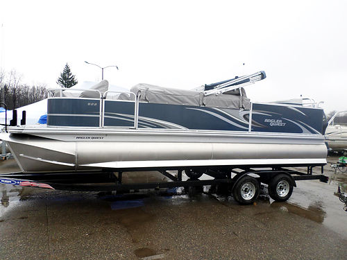 2017 ANGLER Qwest 822 Family Fish 11848 new 150hp Yamaha trailer included 38900