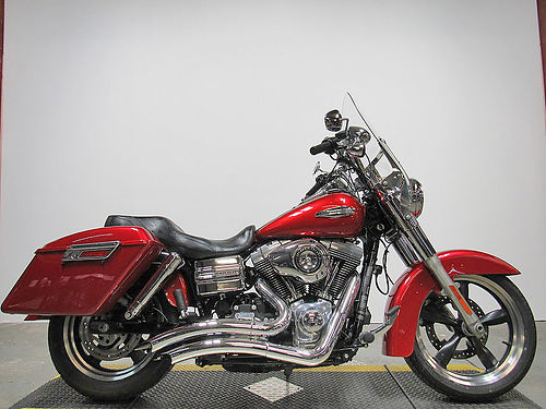 2013 HARLEY-DAVIDSON Switchback U2891 ember red sunglow paint tons of chrome 9999 Email leads