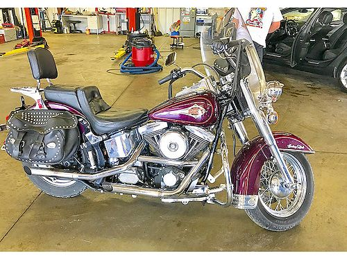 1995 HARLEY-DAVIDSON Heritage Softail low miles sounds and runs great calltext for more pictures