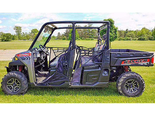 2015 POLARIS Ranger Crew 900 6 passenger 60hp ProStar engine ask for James or Cody only 12688