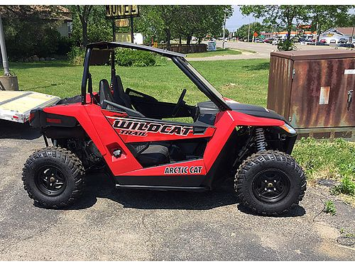 2014 ARCTIC Cat Wildcat 700 Trail 490 miles looks and runs great 4x4 with plow 6700
