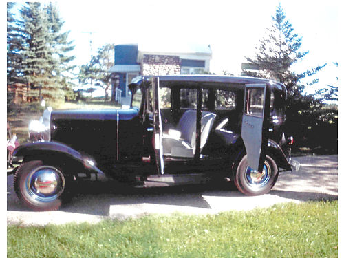 1931 CHEVY we drive everyday license and insured 194 CID six engine 3 speed new top and tires 7