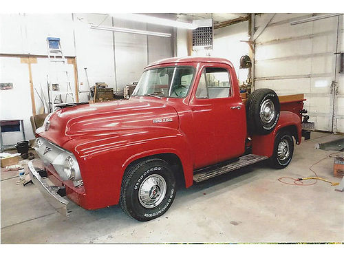 1954 FORD F100 Pick Up restored in and out 351 V-8 auto transmission power steering Can Apple R