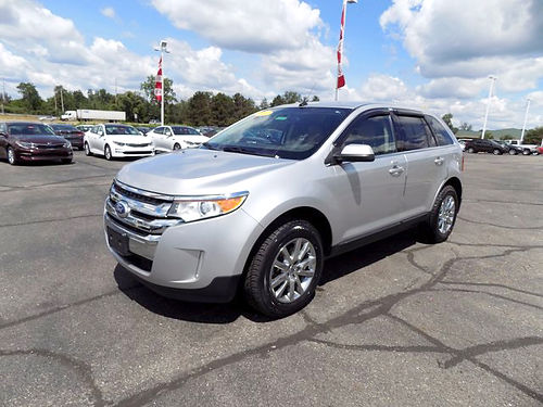 2013 FORD Edge Limited J101512 leather premium audio priced to sell 16741