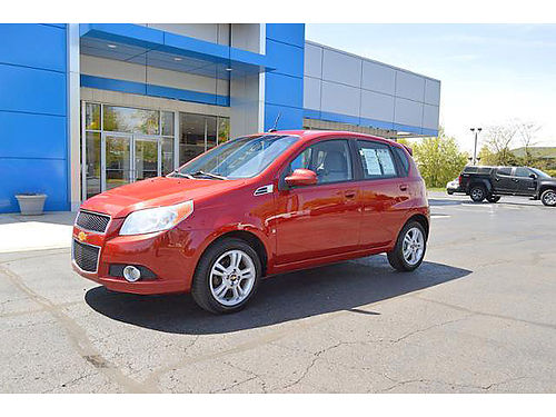2009 CHEVY Aveo 2LT P4021A FWD low miles very clean 6995