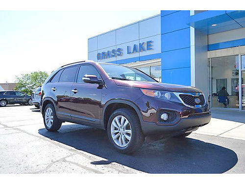2011 KIA Sorento EX P4137 FWD leather well maintaineed very clean 13495