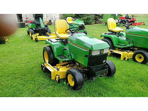 JOHN Deere 445 20 HP Kawasaki 60 cut liquid cooled power steering wwwgrossmowersalescom 39