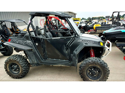 2014 POLARIS RZR900 EPS roof front and rear windshield bumper only 10595