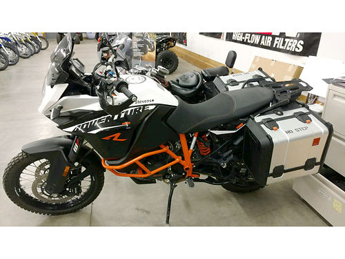 2015 KTM 1190 Adventure R less than 1200 miles excellent condition only 12995