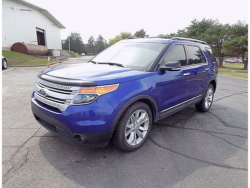 2013 FORD Explorer XLT J101535 3rd row must see 17490
