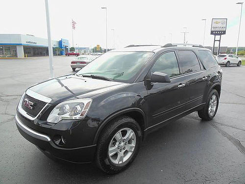 2010 GMC Acadia 50-9593A 109732 miles very clean bucket seats 9995