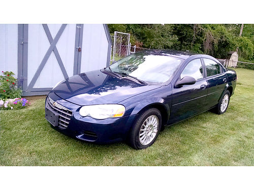 2006 CHRYSLER Sebring Touring 102035 miles well maintained 4 door 27L 6 cylinder FWD midnight