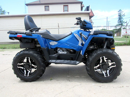 2016 POLARIS Sportsman 570 SP U3373 4x4 fuel injected only 41 hours great all around ATV 699