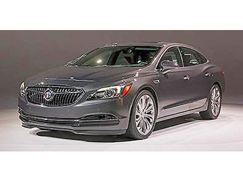 2017 BUICK LaCrosse 50-9777MB 1600 miles save 10000 off of sticker price 34995