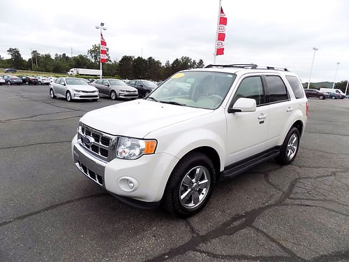 2012 FORD Escape Limited J4087B 30L Duratec low miles 16443
