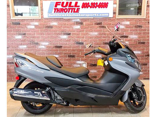 2014 SUZUKI Burgman 400 ABS ask for James or Cody 3688