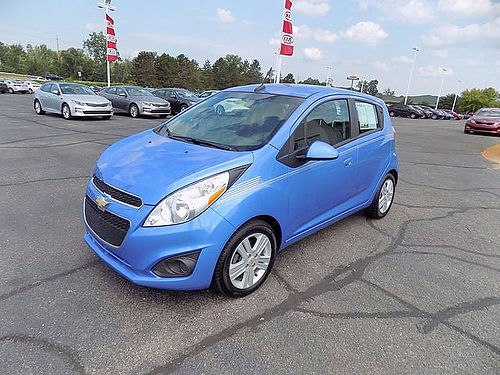 2013 CHEVY Spark LS J101448A hatchback manual 7490
