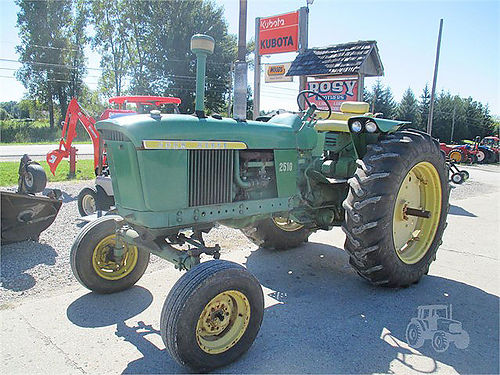 1967 JOHN Deere 2510 5601 4 cylinder gas 3 pt wide front 5401000 PTO syncro trans 5950
