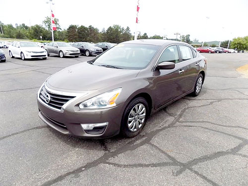 2013 NISSAN Altima 25 J101542 one owner only 17992 miles 13994