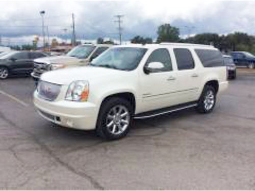 2011 GMC Yukon XL Denali 4997T one owner navigation DVD heated seats 30995