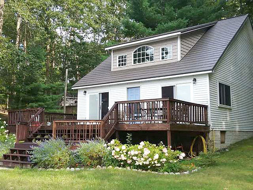 281 SOUTH Street Lake George - 119 feet of sandy shoreline on Bertha Lake 4 lots 3 bedroom many