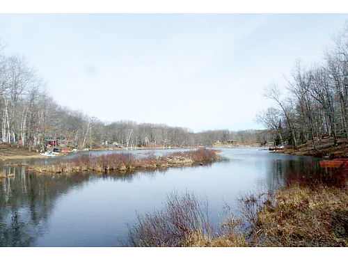 LOT 12 Oak Lane Harrison - 85 feet on the water of private Trout Lake driveway electric dock st